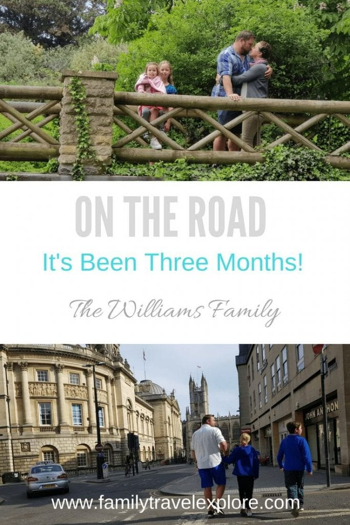 Three Months On The Road!
