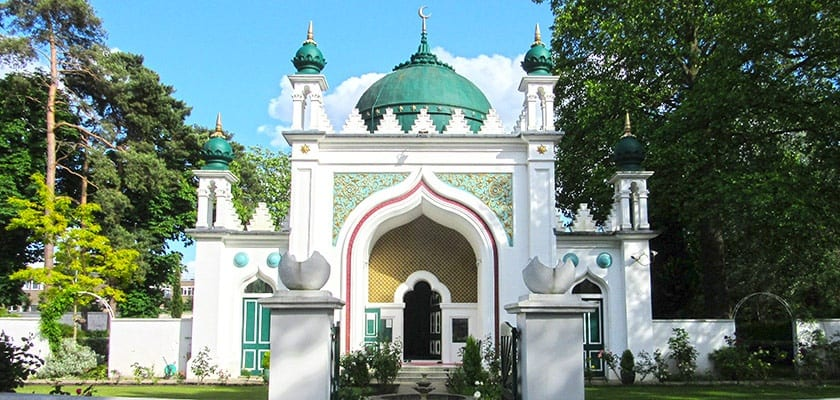 Shah Jahan Mosque in Woking