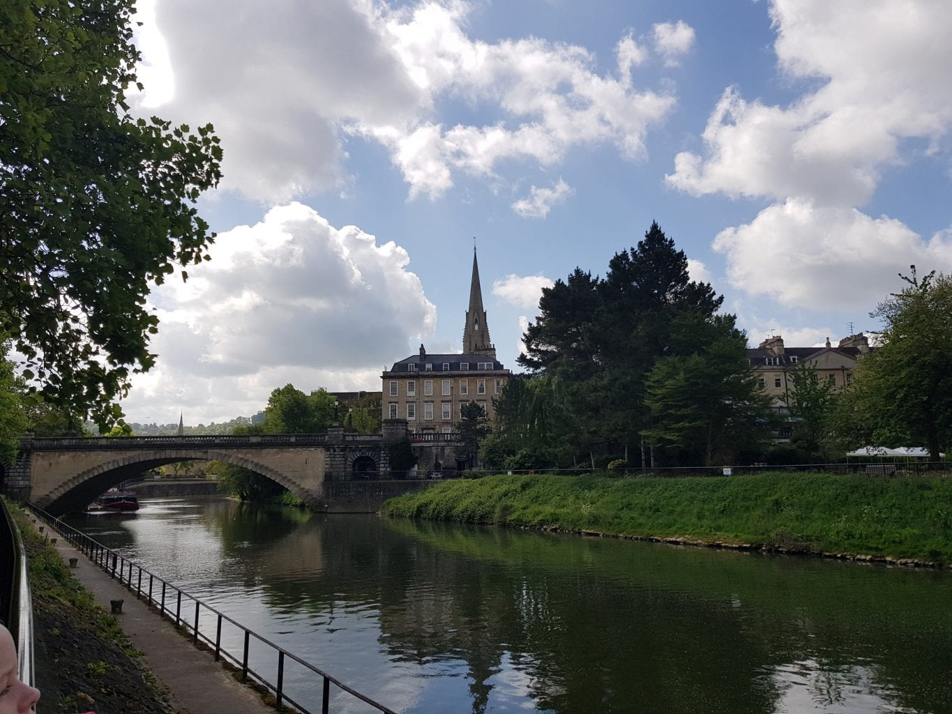 Bath A View from the River Avon