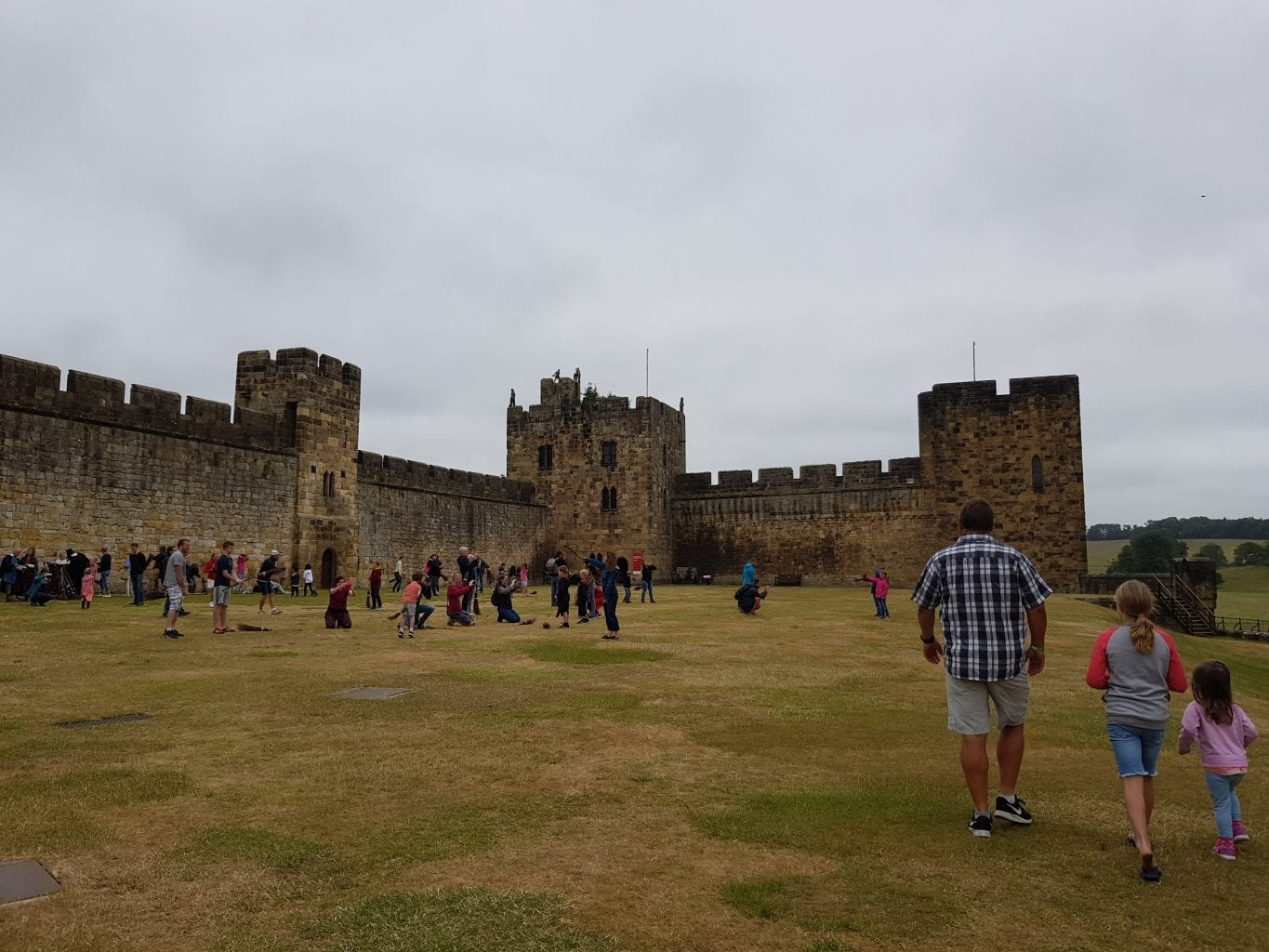 Broomstick flying lessons by Hogwarts Professors at Alnwick Castle