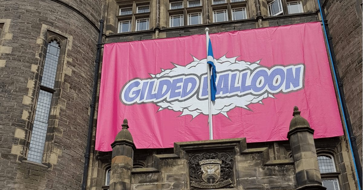 The Edinburgh Festival Fringe – Gilded Balloon Press Launch