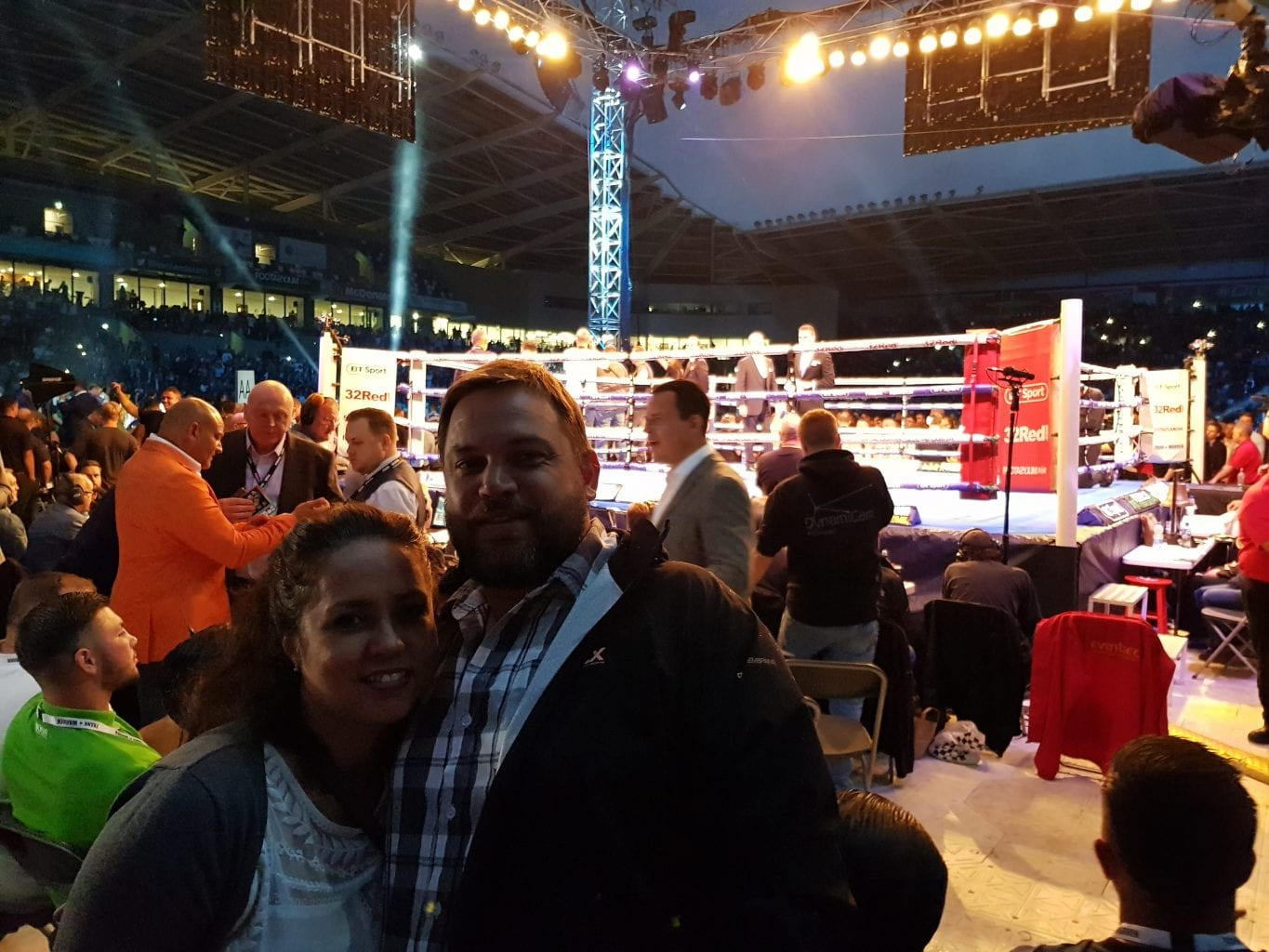 Fight Night Live at Windsor Park in Belfast