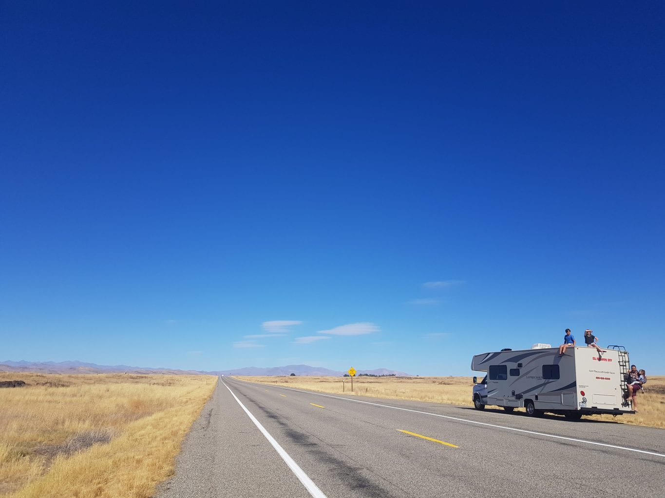 Diary RV Road Trip USA Days 5-8: Tahoe to Tetons