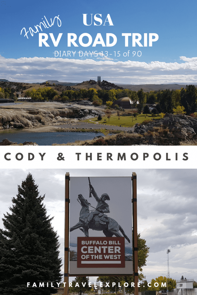 RV Road Trip USA: Cody and Thermopolis, Wyoming