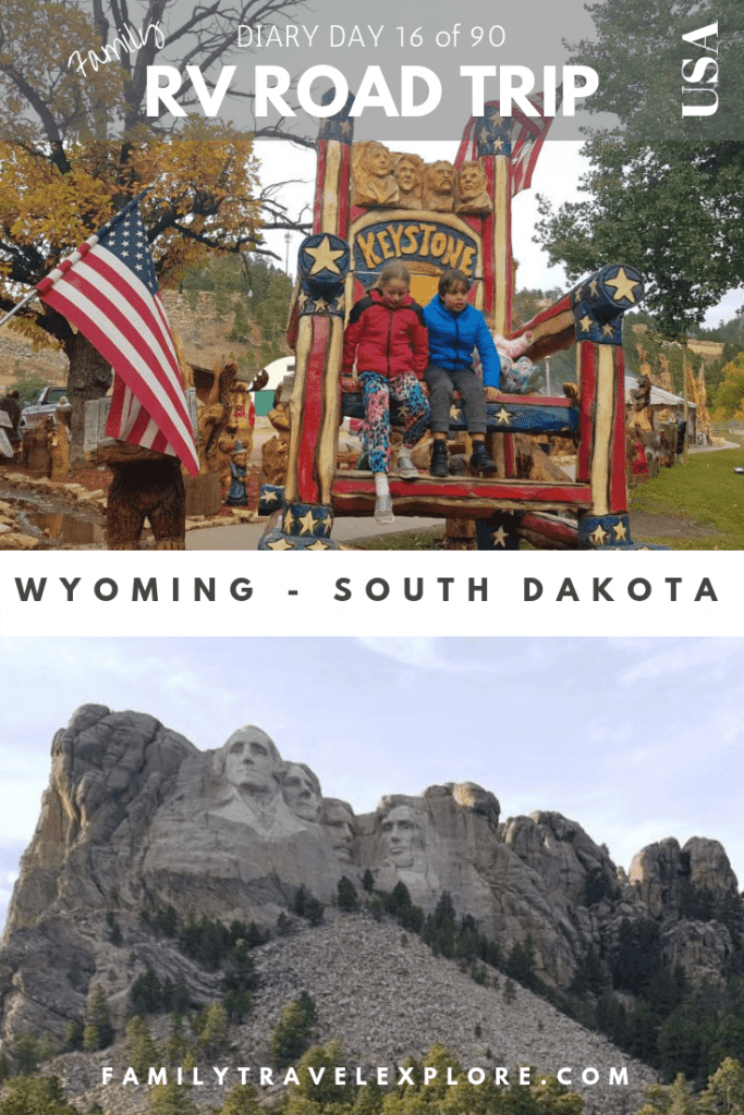 RV Road Trip USA - Wyoming to Mount Rushmore in South Dakota