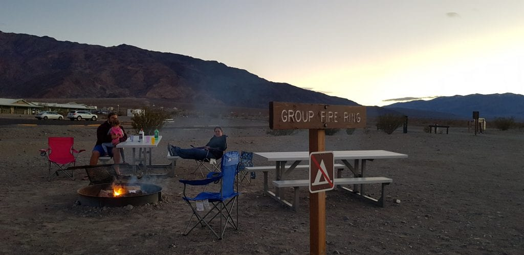 Stove Pipe Wells Campground, Death Valley