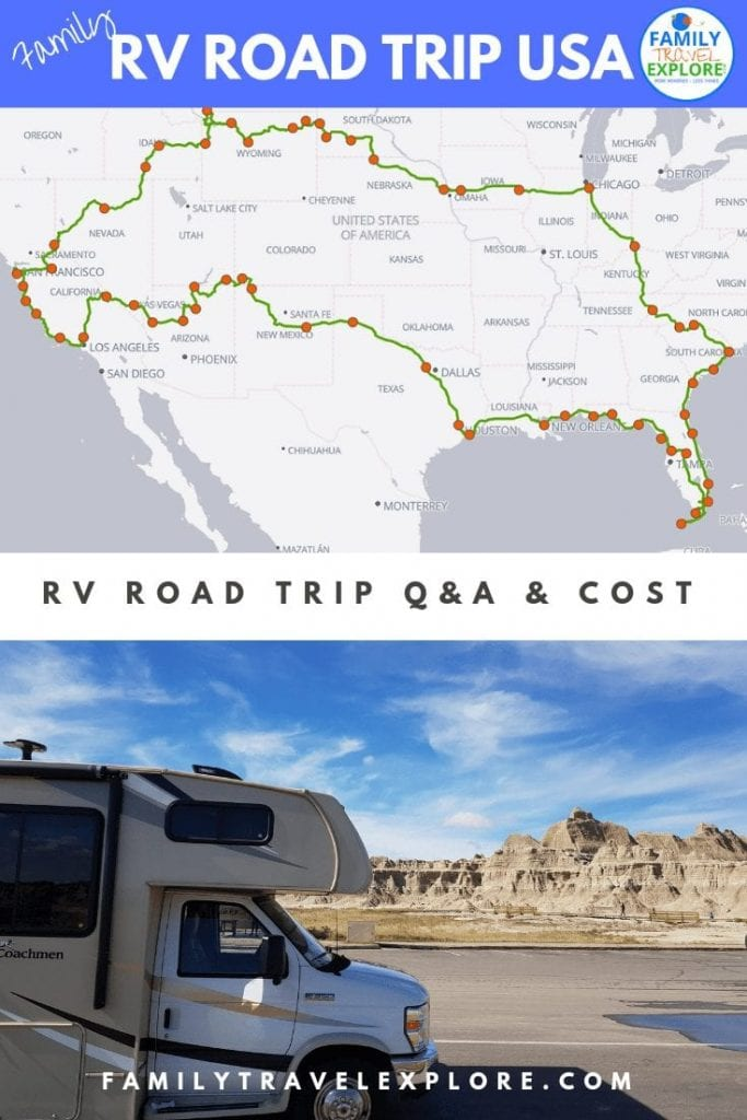 90 DAY USA FAMILY RV ROAD TRIP – WE DID IT!
