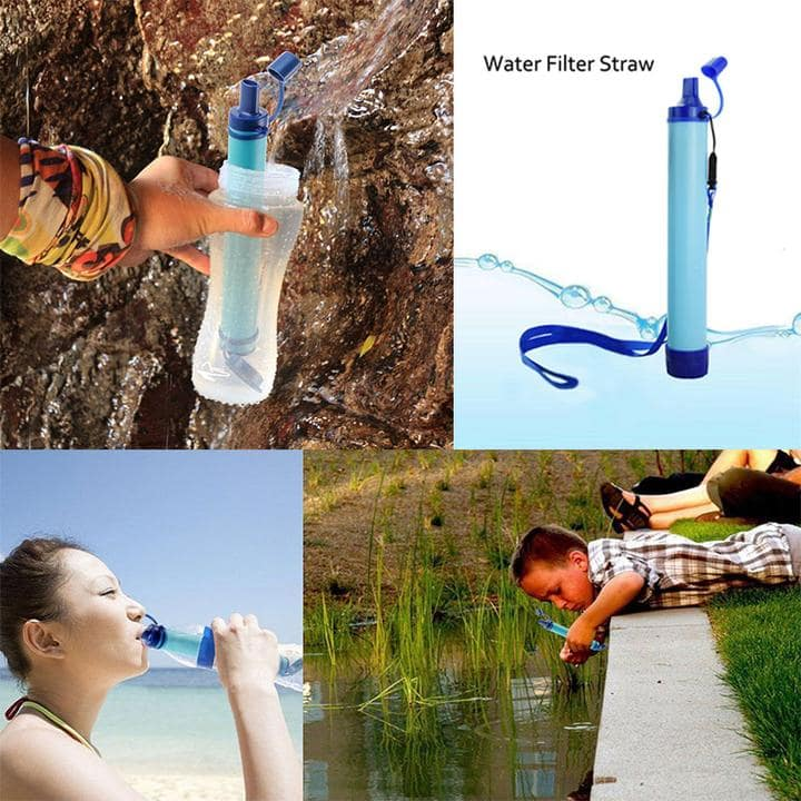 emergency water filter straw