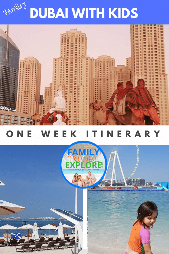 Visit Dubai with kids