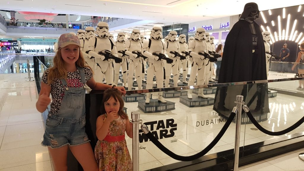 Star Wars at Dubai Mall