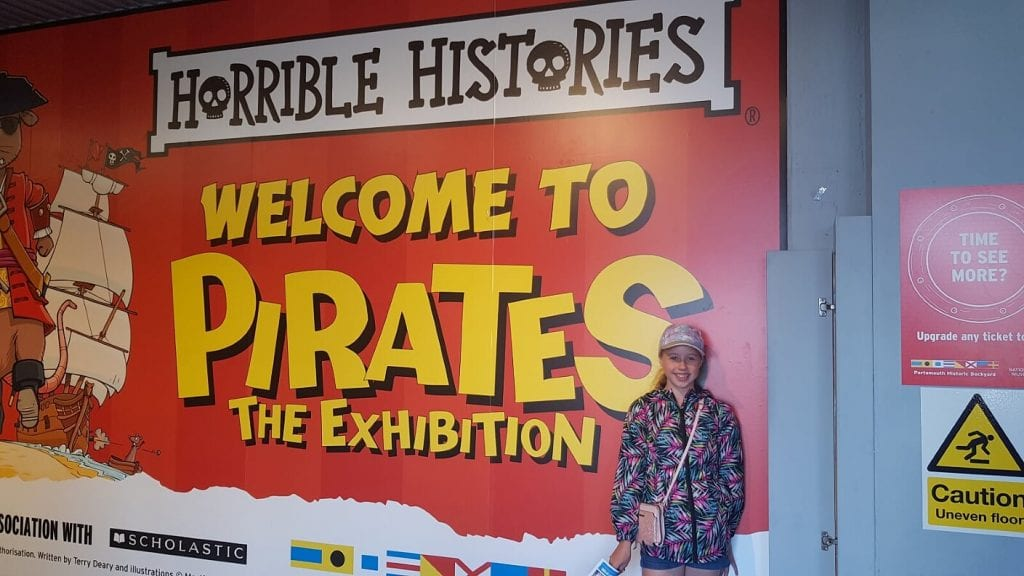 Horrible Histories Portsmouth historic dockyard