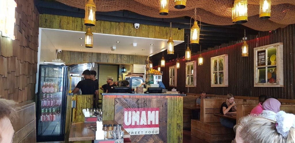 Dinner at Umami, Portsmouth