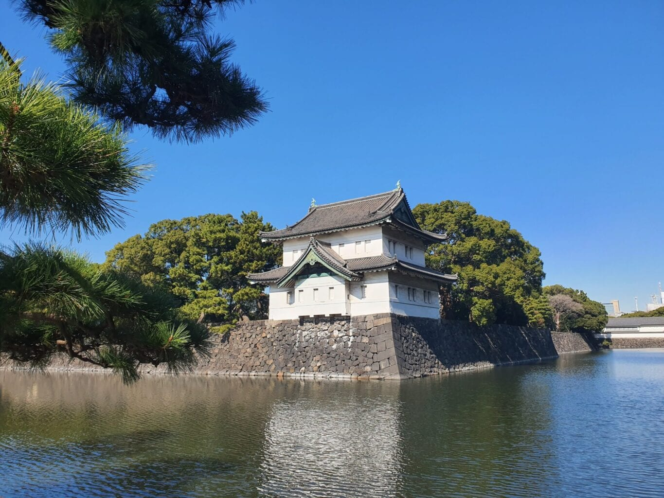 The Imperial Palace near Ginza, Tokyo