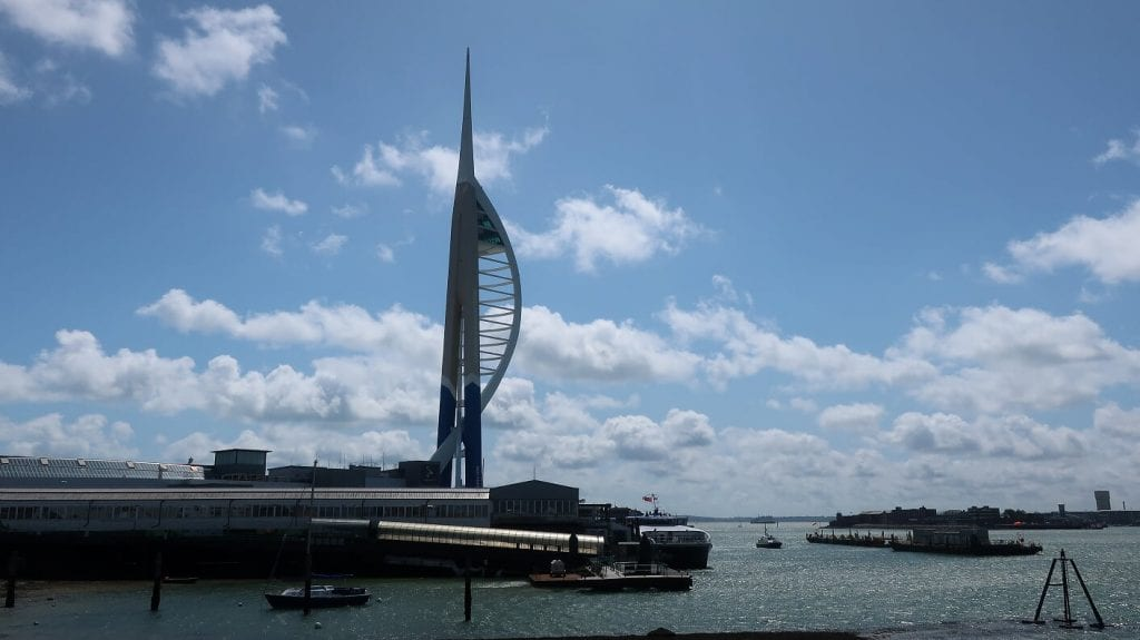 Emirates Spinnaker Tower at Gunwharf Quays in Portsmouth
