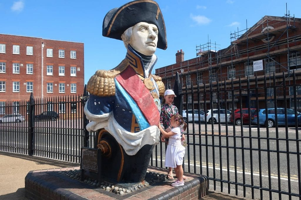 Lord Nelson at Portsmouth Historic Dockyard