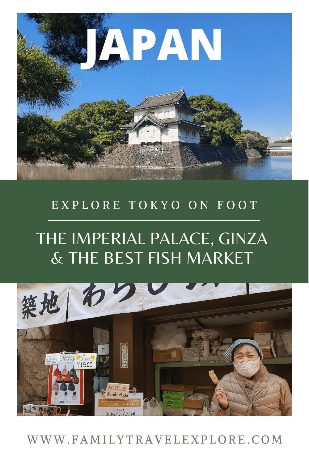 Ginza, The Imperial Palace, & The Best Fish Market In Tokyo