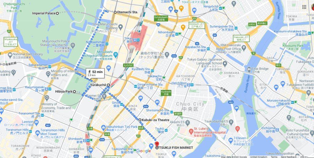 incredible things to do in tokyo Ginza on foot