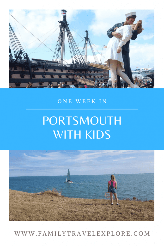 One outstanding week in Portsmouth with Kids Familytravelexplore.com