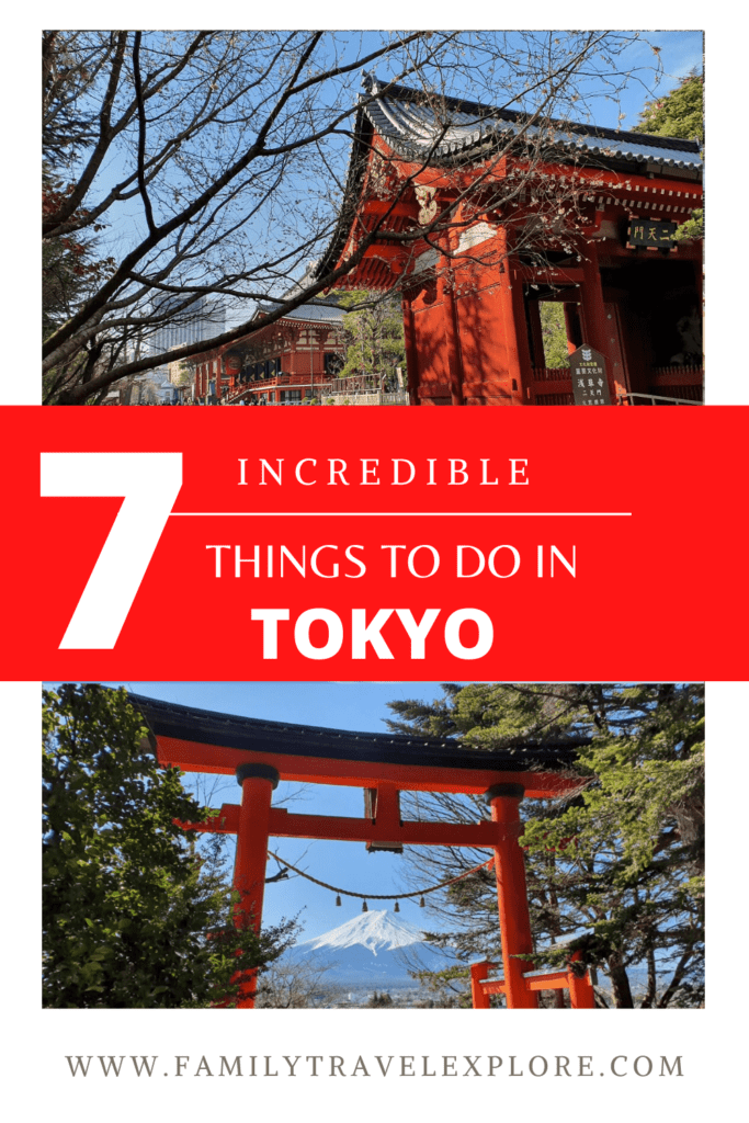 7 incredible things to do in tokyo