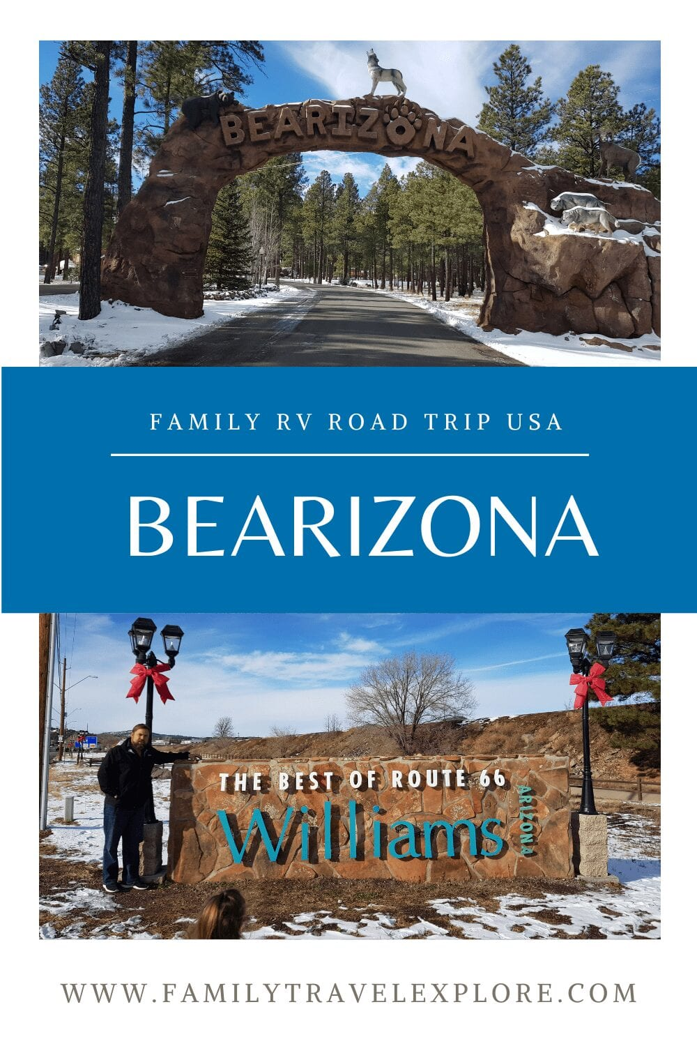 Bearizona & The Best Part Of Historic Route 66 with Kids